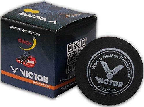 VICTOR Squashball, Doppelgelb, Einzelner Karton