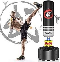 GIKPAL Freestanding Punching Bag 69'' - 182lbs Heavy Boxing Bag Free Stand Kickboxing Bag for Adults Youth Men