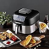 MasterPro Barbacoa sin humo One Touch 6,3L Freidora, asa, hornea, fríe sin aceite, deshidrata, cocina, Air Fryer con...