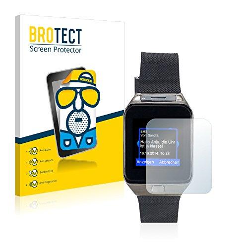 BROTECT 2X Entspiegelungs-Schutzfolie kompatibel mit Simvalley Mobile PW-430.mp 2016 Bildschirmschutz-Folie Matt, Anti-Reflex, Anti-Fingerprint