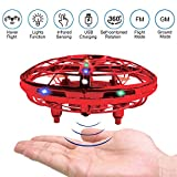 BRAND SET Version Améliorée UFO Drone Enfant Mini Drone Helicoptère Soucoupe...