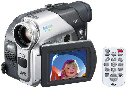 JVC GR-D93EK MiniDV Digital Camcorder [1.33Mp, 10x Optical]
