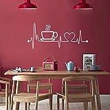 Etiqueta engomada de la cocina Vinilo Arte Pared Pegamento Pared Habitación Decoración para el hogar