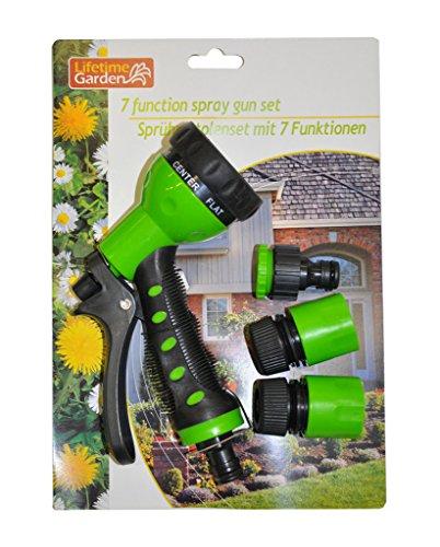 Lifetime Garden Maison futée - Pistolet d arrosage multijet et Ses 3 Accessoires