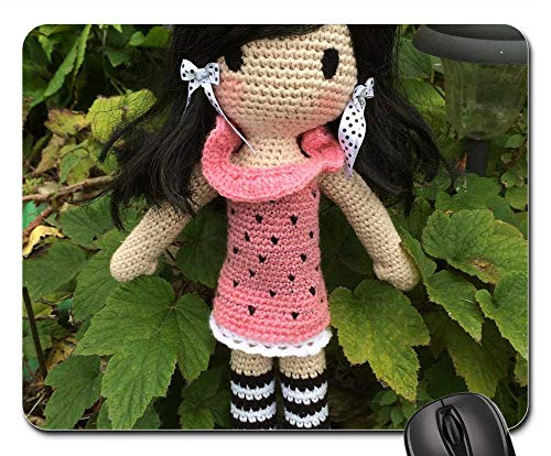 Mouse Pad - Crochet Doll Crochet Crochet Pattern Yarn Wool