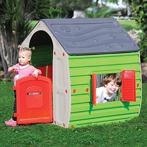 Compra calidad 100% autentica Starplay 17561 Magical Realistic Playhouse, Playhouse, Playhouse, Plastic Material, Gloss Finish, Water Resistant, Easy to Assemble, Primary Colors, For Kids 3 Years and Up, Outdoor by Starplay  venta al por mayor barato