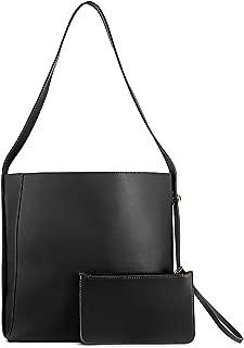 Shoulder Bucket Bag for Women Hobo Satchel Handbags Crossbody Tote Designer Bag with Inner Pouch for Women-cundo
