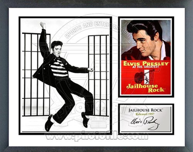 Elvis Presley Jailhouse Rock Music & Memories Framed Photo