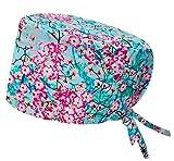 ROBIN HAT - Cuffie da sala Operatoria SAKURA - CAPELLI LUNGHI - 100% cotone (Autoclave) - ...