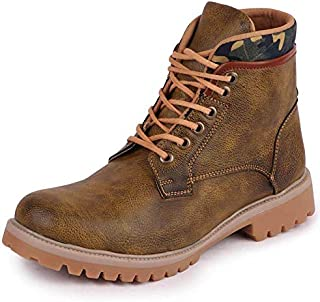 FAUSTO Men's Ankle PU Outdoor Boots