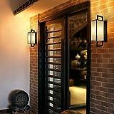 MingXinJia - Aplique de pared para salón, pasillo, hotel, iluminación de...