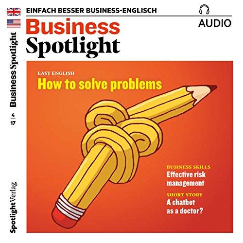 Business Spotlight Audio - Effective risk management. 4/2017 Titelbild