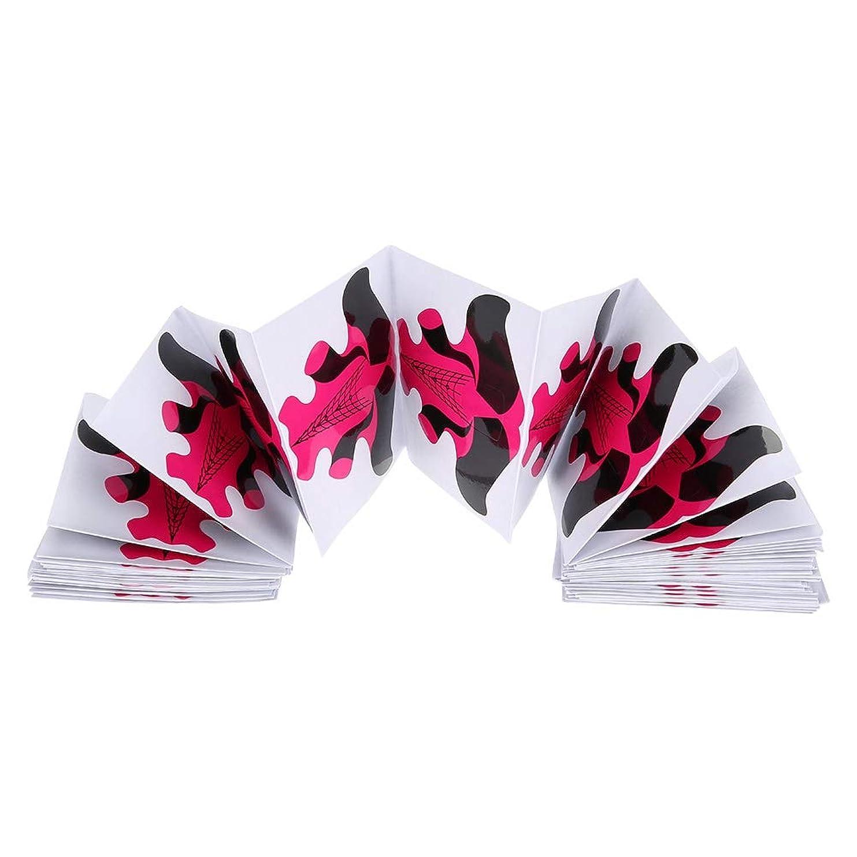 ディスクペルソナ朝ごはんネイルエクステンション用紙トレイ用100個ネイルフォーム