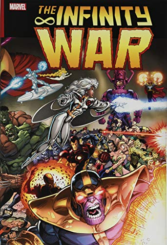 Compare Textbook Prices for Infinity War Omnibus  ISBN 9781302915964 by Starlin, Jim,Defalco, Tom,Thomas, Roy,Marz, Ron,Lim, Ron,Ryan, Paul,Raney, Tom,Medina, Angel