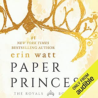 Paper Princess                   Written by:                                                                                                                                 Erin Watt                               Narrated by:                                                                                                                                 Angela Goethals                      Length: 9 hrs and 28 mins     52 ratings     Overall 3.9