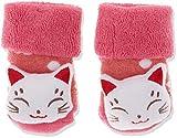 Sterntaler Baby-Mädchen Rasselsöckchen Socken, Rot (Beerenr Mel 816), One Size (15/16)