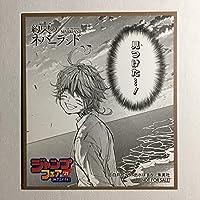 ジャンプフェア 約束のネバーランド アニメイト ミニ色紙 janp007