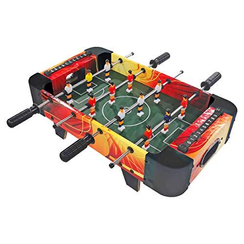 Best Sporting Mini Tischkicker Goal mit Füßen 60 x 31 cm