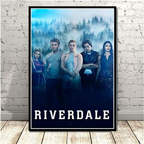 daerduotutu Regalo de película Riverdale Temporada 3 Serie de TV Show Art Poster Lienzo Pintura de Pared para la decoración del hogar de la habitación A96 50 × 70CM Sin Marco