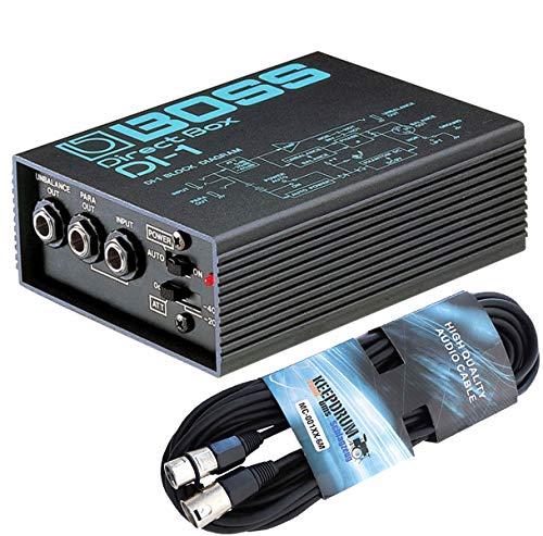Boss DI-1 Active DI-Box Direct Box + cable XLR