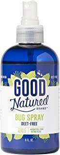 Good Natured Brand All-Natural Eco-Friendly Bug Spray Repellant Deet-Free, Pleasant Scent, Non-Oily, Pet and Child Safe 8 fl. oz.