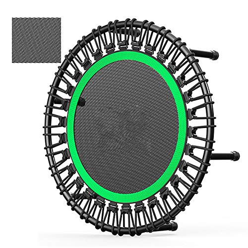 AUNLPB 40 '' Ultra-Quiet Fitness Mini-Trampolin Sicher Elastic Band - Indoor Fitness/Heimtraining Ausdauertraining ohne verstellbaren Handgriff für Erwachsene,2