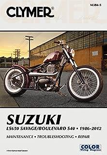 017128 CLYMER Suzuki LS650 Savage Boulevard S40 86-12 Manual