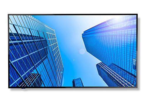 """NEC MultiSync E437Q - Classe 43"""" (42.5"""" Visibile), Display LED - Segnalazione Digitale - 4K UHD (2160p) 3840 x 2160 - HDR - LED a Illuminazione Diretta - Nero"""