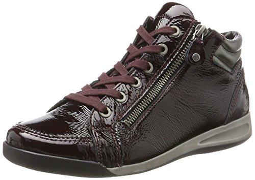 ara Damen Rom-Stf Hohe Sneaker, Rot (Brunello,Gun), 40 EU (6.5 UK)