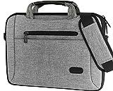 ProCase14-15.6 Zoll Sleeve Case Cover Schulter Tasche für MacBook Pro 15'/2019 MacBook Pro 16' A2141, 14/15.6' Ultrabook Notebook Chromebook Lenovo Dell Toshiba HP ASUS Acer Laptop -Grau