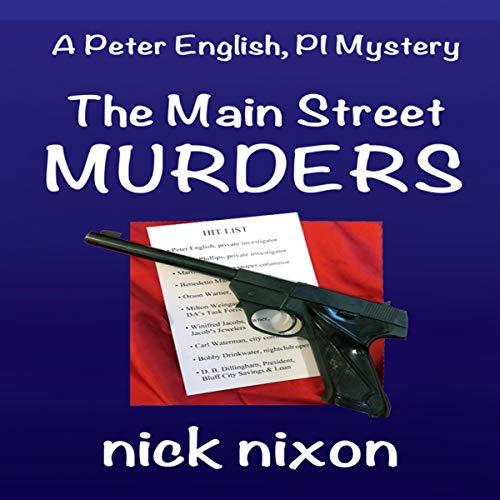 The Main Street Murders audiobook cover art