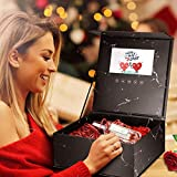 PaNt Caja de regalo con pantalla LCD de 7 pulgadas con video y foto, caja de regalo de explosión sorpresa creativa, memoria de amor, caja de regalo para cumpleaños, día de san valentín, boda