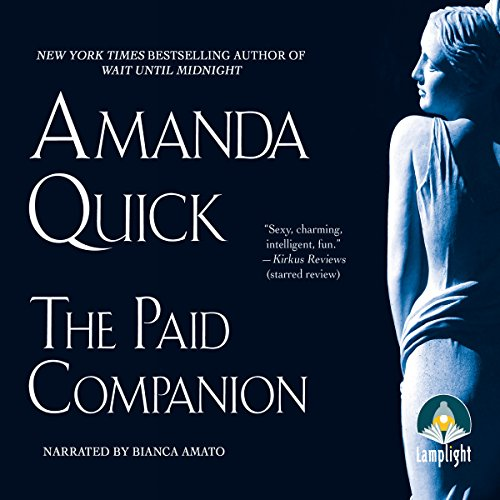 The Paid Companion                   By:                                                                                                                                 Amanda Quick                               Narrated by:                                                                                                                                 Bianca Amato                      Length: 11 hrs and 46 mins     9 ratings     Overall 4.6