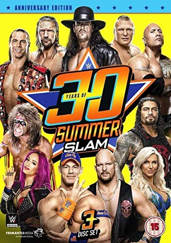 WWE: 30 Years of Summerslam [3 DVDs]