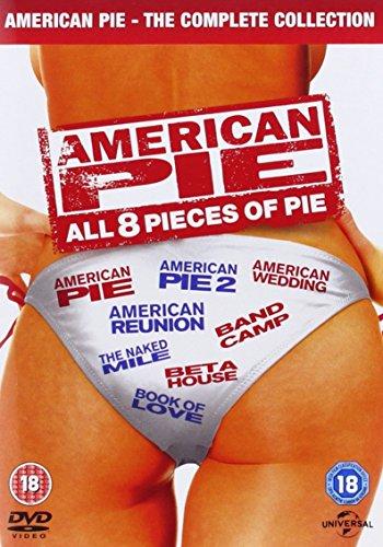 American Pie 18 2012 (8 Dvd) [Edizione: Regno Unito] [Reino Unido]