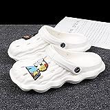 Kirin-1 Sandalias Cangrejeras Mujer para La Playa,Zapatos Y Complementos,Zapatillas De Verano Masculinas Sandalias De Hombres De La Personalidad De La Playa Anti-Lover-40_b