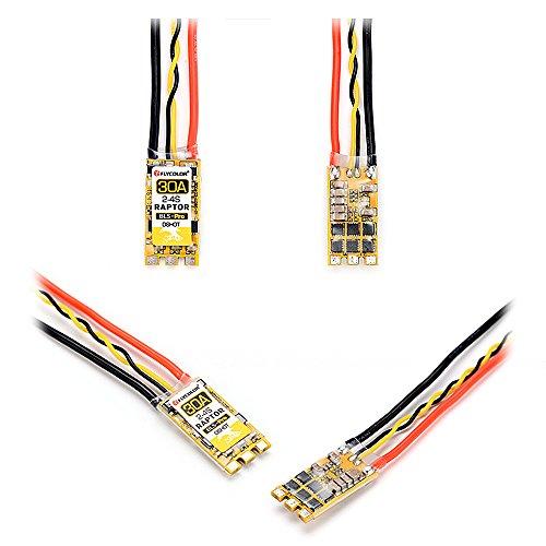 Benkeg Elektronischer Geschwindigkeitsregler ESC Bürstenloser ESC Raptor BLS-Pro 30A 2-4s Multirotor für 170-330 RC-Drohne mit Mehreren Rotoren