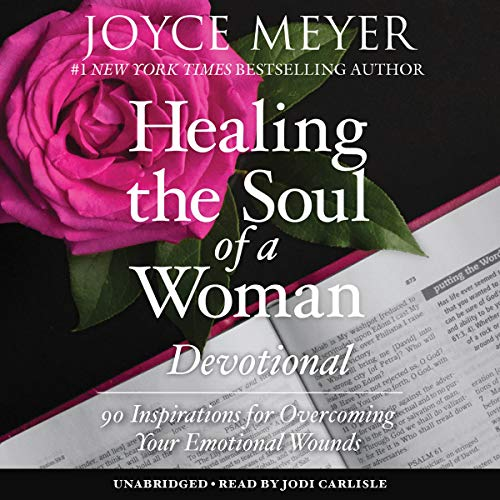 Healing the Soul of a Woman Devotional cover art