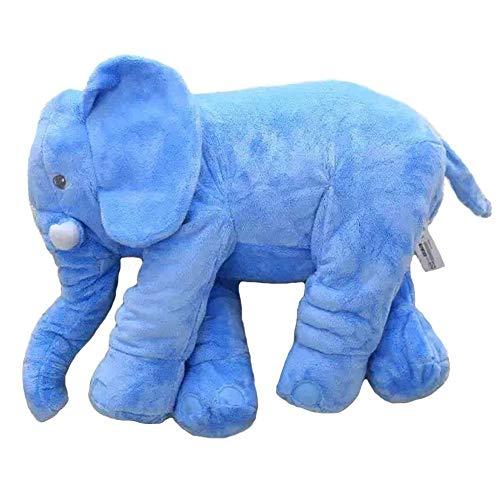 Bebé Elefante Almohada bebé Elefante Almohada Elefante Juguete (Azul)