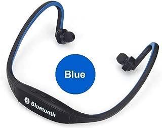 Bluetooth 4.1 Headphones Sport Neckband Stereo Earphones Headset Rechargeable (Blue)