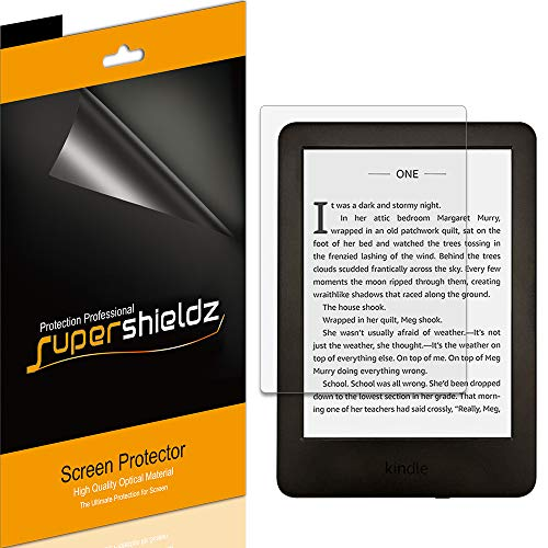 (3 Pack) Supershieldz Anti Glare (Matte) Screen Protector for All New Kindle (10th Generation 2019 Released), Kindle E-Reader (8th Generation), and Kindle Paperwhite (7th Generation)