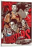 Póster y pintura Cazafantasmas dibujos animados carteles de películas geniales póster artístico...