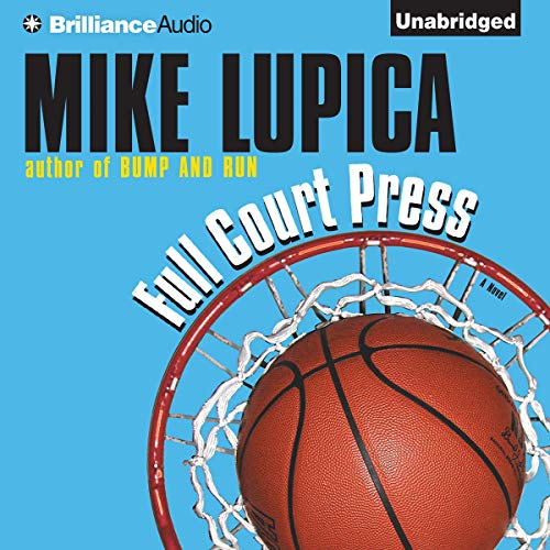 Full Court Press audiobook cover art