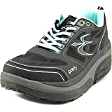 Gravity Defyer Women's G-Defy Ion Black Comfortable Walking Shoes 8 M US - Pain Relief Shoes for Plantar Fasciitis, Heel Spurs, Knee Pain Shoes