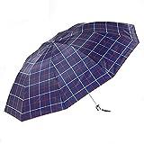 ZRJ Paraguas Portátil El Nuevo Paraguas Plegado Compacto A Prueba Viento A Prueba Viento para Uso Exteriores Es Flexible Y Duradero. Paraguas Clásicos (Color : B)