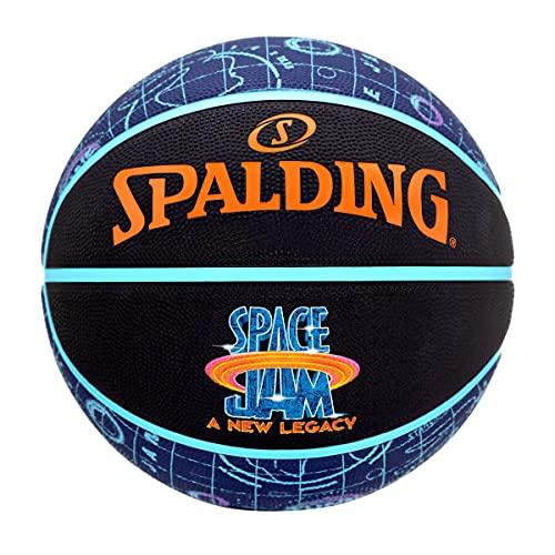 Spalding Space Jam Tune Court Ball 84560Z; Womens,Childrens,Mens basketballs; 84560Z_7; Black; EU; (7 UK)