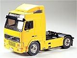タミヤ 1/14 電動RCビッグトラックシリーズ No.12 トレーラーヘッド ボルボ FH12 グローブトロッター 420 ラジコン 56312
