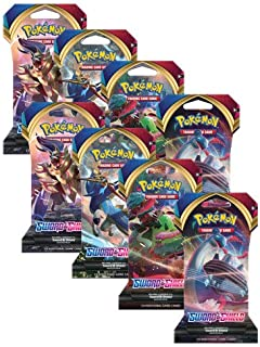 Pokemon TCG Sword and Shield (8) Sleeved Booster Packs - 10 Cards per Pack!