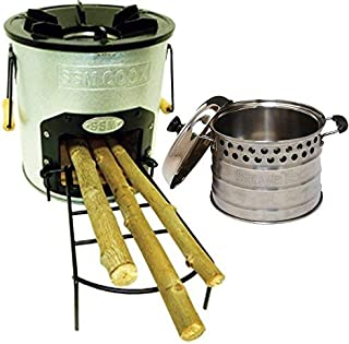Cascadia One Door Stove and Super Pot Combo