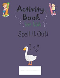 spell it out: Learning & Teaching ABC, Guessing the word with Spell it out the Animals Vocabulary Puzzle Game, practice to...